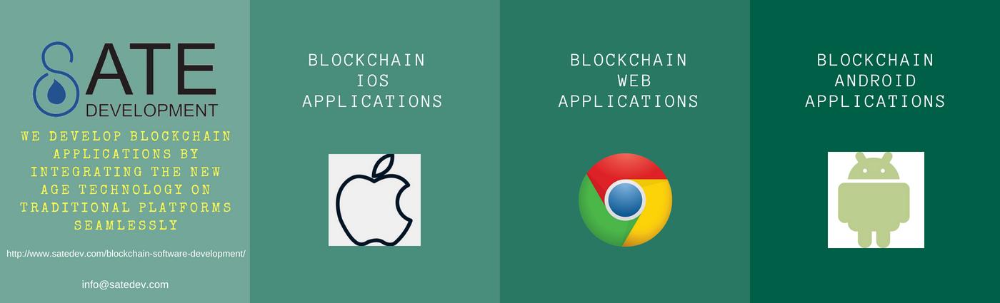 Blockchain Software Development Application - Sate Development